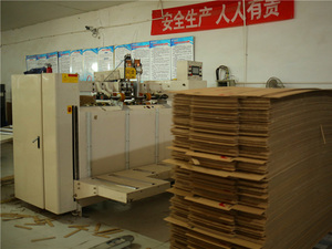 纸箱厂半成品展示